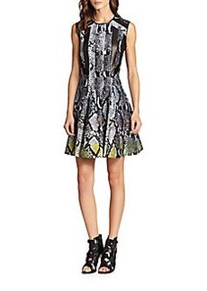 Diane von Furstenberg Ida Wool & Silk Dress