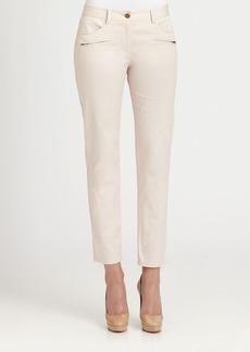DKNY Zippered Skinny Jeans