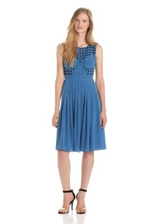 Tracy Reese Women's Combo Frock Dress