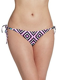Cosabella Swim Brigitte Printed Triangle Bikini Top
