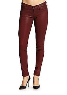True Religion Halle Coated Super Skinny Jeans