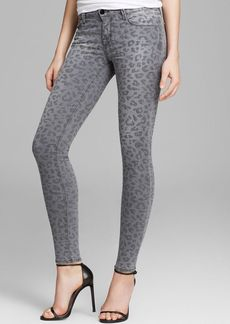 J Brand Jeans - Photo Ready Leopard Printed Skinny in Onyx