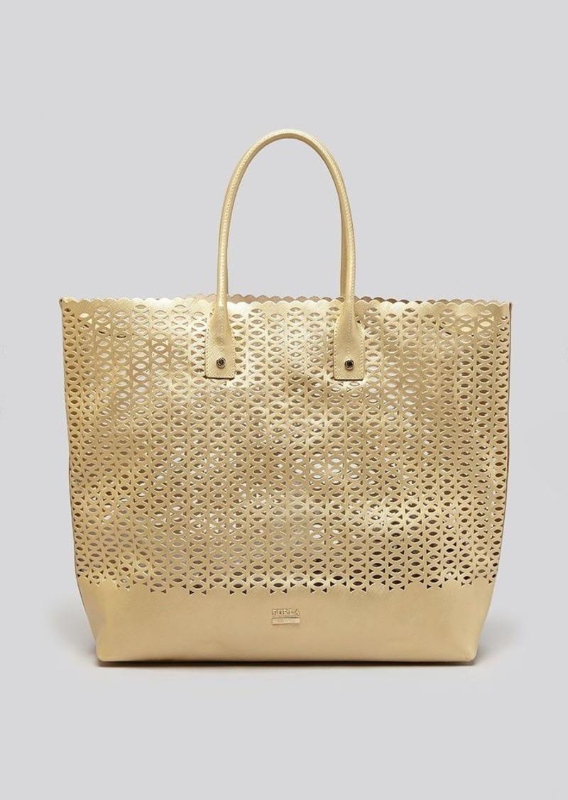 furla furla tote melissa perforated handbags shop it to me. Black Bedroom Furniture Sets. Home Design Ideas