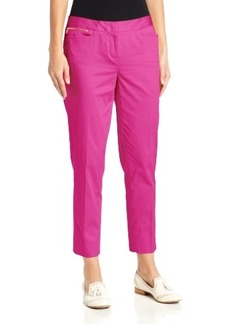 Jones New York Women's Crop Trouser Pant