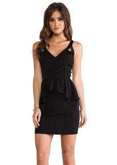 DV by Dolce Vita Jodie Viscose Faille Dress in Black