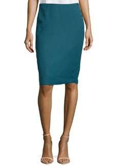 Lafayette 148 New York Nouveau Twill Pencil Skirt, Mallard