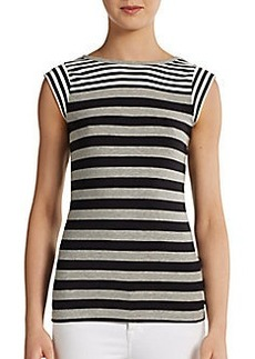 French Connection Boulevard Contrast Stripe Tee
