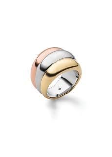 Michael Kors Three-Tone Stacked Ring