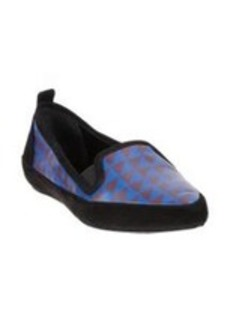 Proenza Schouler Triangle-Print Combo Loafer