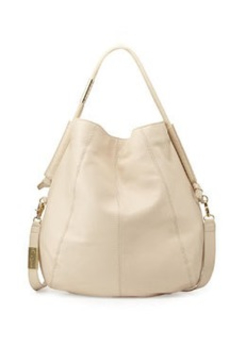 Foley + Corinna Southside Leather Hobo Bag, Ecru
