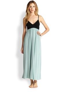 Donna Karan Soft Cup Liquid Jersey Gown