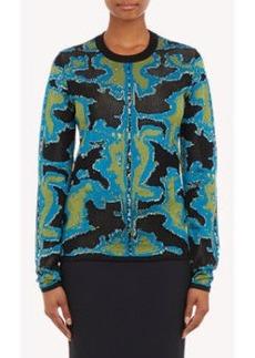 Proenza Schouler Jacquard Pullover Sweater