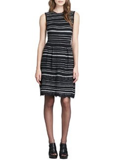 Decadence Striped Shift Dress   Decadence Striped Shift Dress