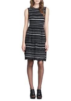 Decadence Striped Shift Dress   Decadence Striped Shift Dress