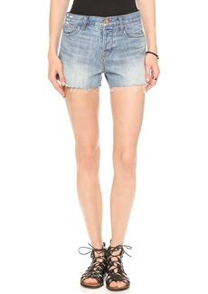J Brand Carly Rigid Denim Shorts