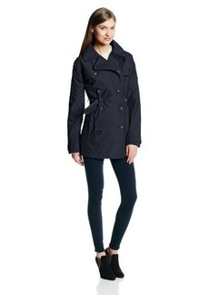 Cutter & Buck Women's Weathertec Mason Single-Breasted Trench Coat