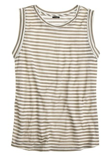 Prima jersey tank in stripe
