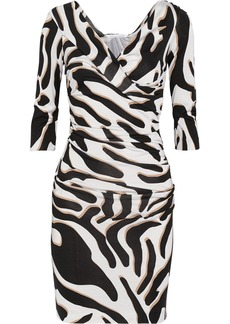 Diane von Furstenberg Bentley printed silk-jersey dress