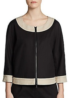 Lafayette 148 New York Barrett Zip Jacket