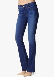The Skinny Bootcut in Bright Blue Sateen