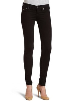True Religion Women's Misty Legging Jean in Supervixen Black
