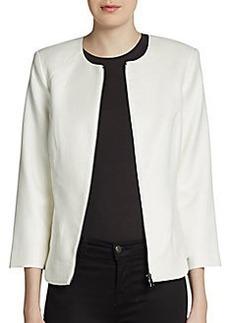 Robert Rodriguez Textured Zip-Front Jacket