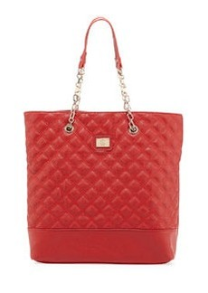 Christian Lacroix Lucile Quilted Faux Leather Tote Bag, Red