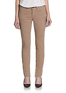 Elie Tahari Farrell Zip Cuffs Skinny Jeans