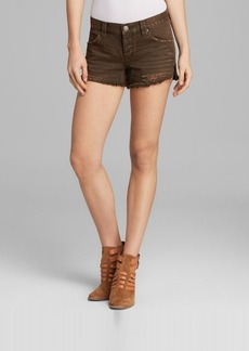 Free People Shorts - Shark Bite in Woody Wash