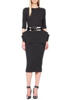 Michael Kors Ribbed Pencil Skirt