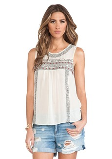 Joie Norristelle Embellished Tank in Ivory