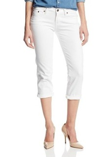 Lucky Brand Women's Sweet Jean Denim Crop with Flap
