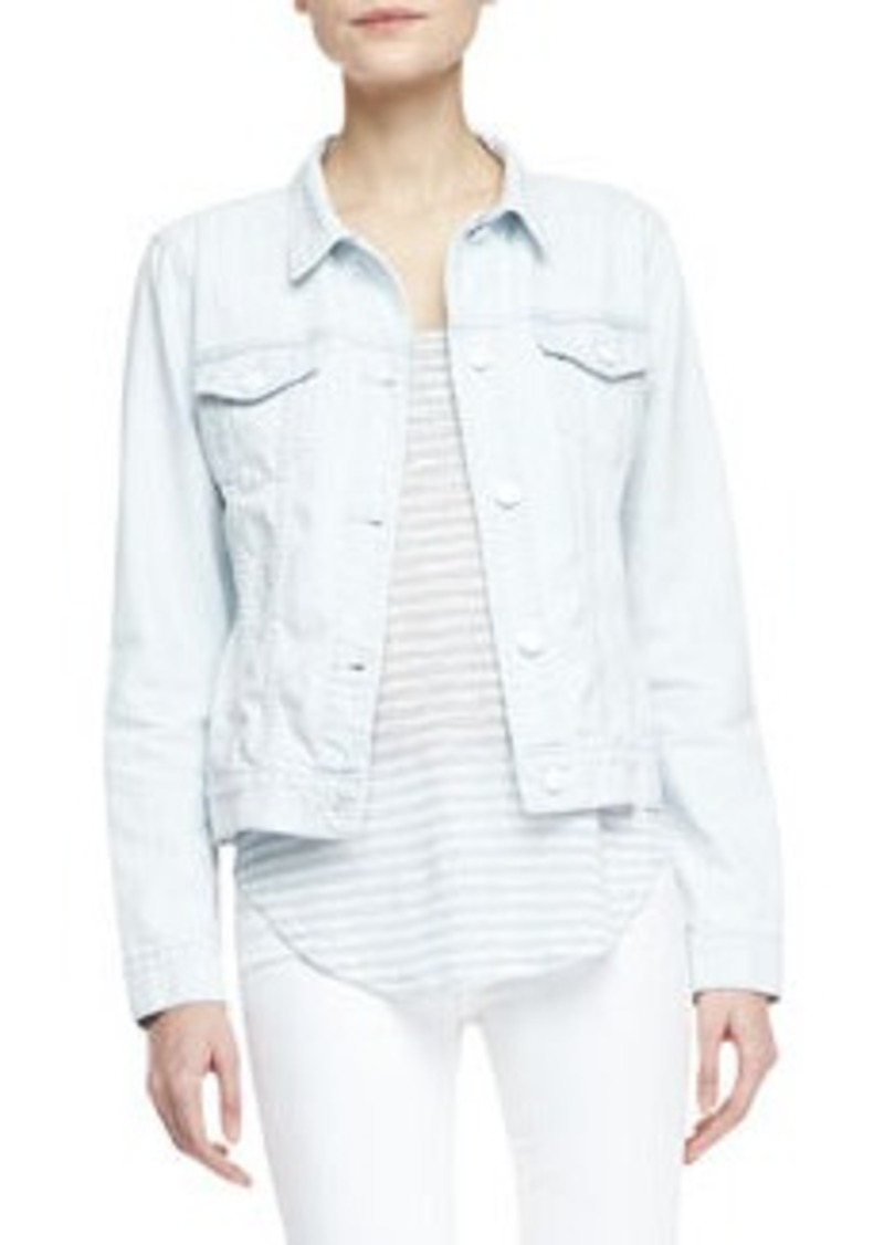 Classic Light-Wash Jean Jacket   Classic Light-Wash Jean Jacket