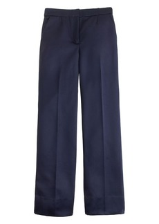 Collection trouser in royal duchesse satin