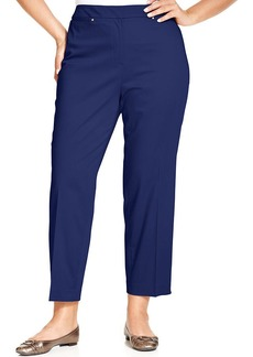 Jones New York Collection Plus Size Sloane Ankle-Length Pants