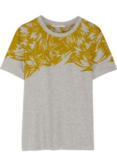 Jason Wu Printed cotton and modal-blend T-shirt