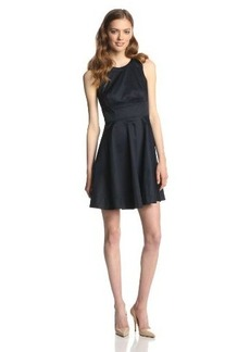 French Connection Women's Superchick Solid Dress, Utility Blue, 12