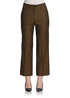Marc Jacobs Cropped Wide-Leg Trousers