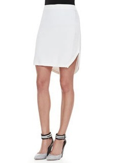 J Brand Ready to Wear Carol Round-Hem Sweater Skirt