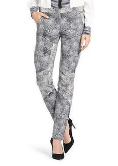 Wendy Dot Printed Skinny Pant