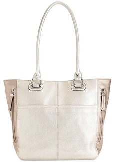 Tignanello Pebble Leather Pocket Tote