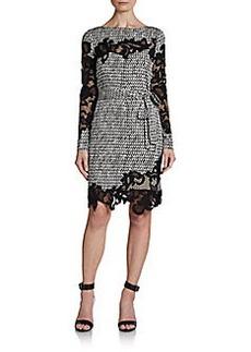 Diane von Furstenberg Printed Ernestina Dress