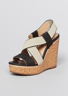 Splendid Platform Wedge Sandals - Kellen