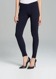 HUE Sleek Stretch Woven Leggings