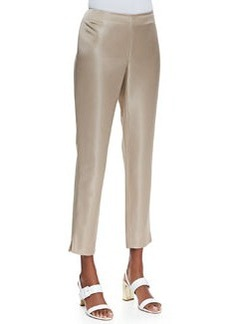 Lafayette 148 New York Stanton Satin Straight-Leg Pants