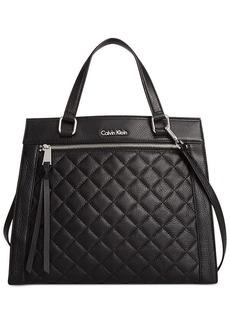 Calvin Klein Geneva Pebble Satchel