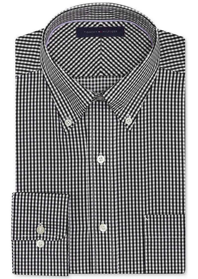 Tommy hilfiger tommy hilfiger dress shirt non iron for Tommy hilfiger gingham dress shirt