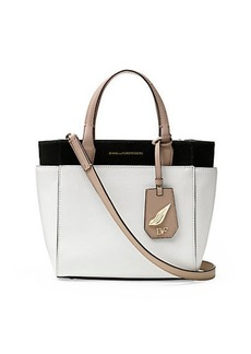 On The Go Mini Leather Tote Bag