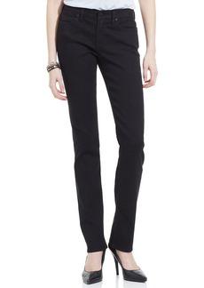 Calvin Klein Jeans Straight-Leg Jeans, Black Wash