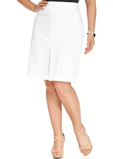Jones New York Collection Plus Size Pleated Skirt